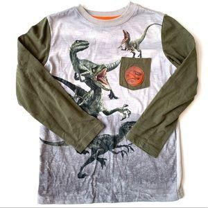 Jurassic World Boy Dinosaur Tee
